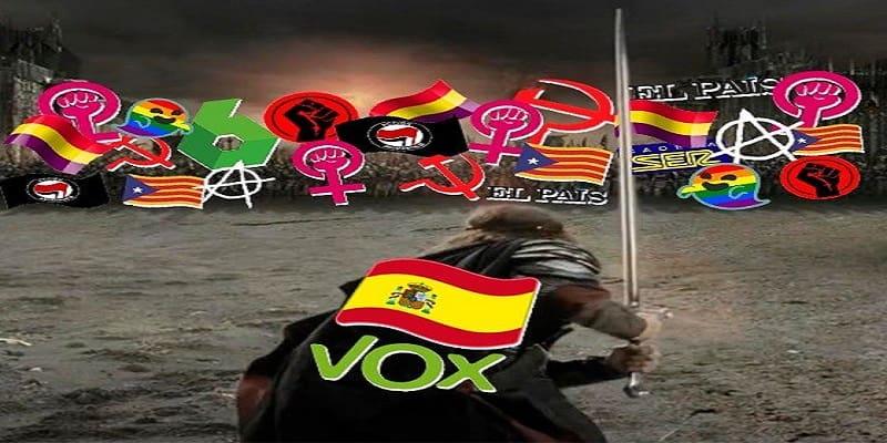 Ο Άραγκορν «γλεντάει» τους Ισπανούς φασίστες του Vox