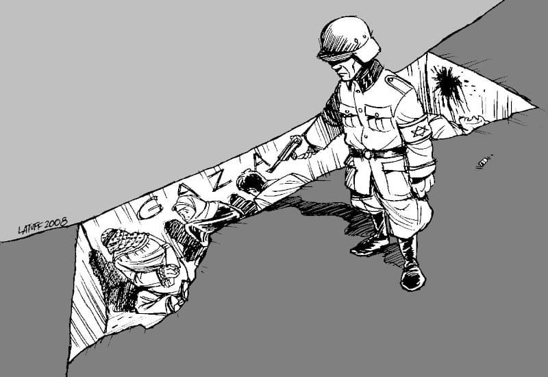 Ο Carlos Latuff για τη ισραηλινή θηριωδία στη Γάζα
