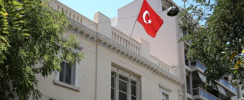 Παράσταση Διαμαρτυρίας στην Τουρκική Πρεσβεία στις 17 Οκτώβρη