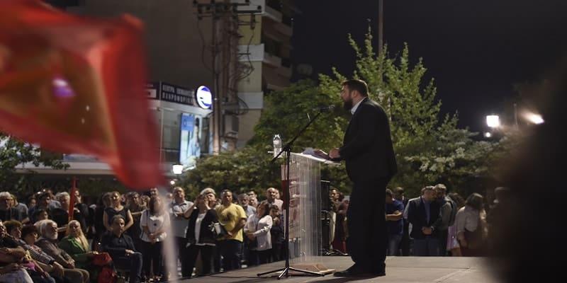 Πρωτούλης: «Η Πετρούπολη έχει παλικάρι δήμαρχο...»