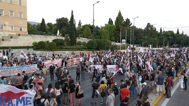 Πρώτο ψέμα στην προπαγάνδα «100 εκπαιδευτικοί έκλεισαν το κέντρο της Αθήνας»