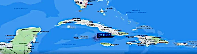 Σεισμός νότια της Κούβας 7,7 Ρίχτερ