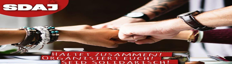 Σοσιαλιστική Γερμανική Εργατική Νεολαία: «Ο κορωνοϊός στις δικές μας πλάτες; Δε θα το επιτρέψουμε!»