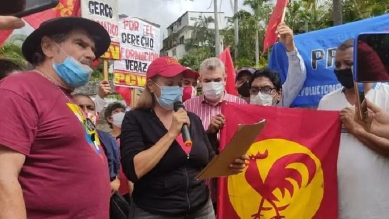 Το ΚΚΕ καταγγέλλει τη λογοκρισία κατά του ΚΚ Βενεζουέλας