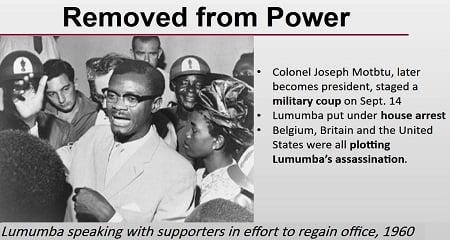 Το βελγικό πόρισμα της δολοφονίας Lumumba - Επίλογος
