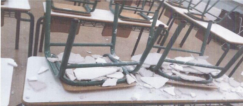 Υπό κατάρρευση τα σχολεία στο Μενίδι - Σε κίνδυνο οι μαθητές