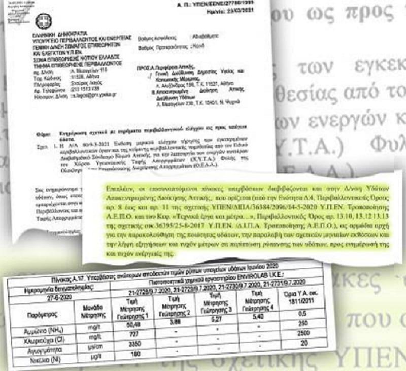 ΧΥΤΑ Φυλής: Εγγραφο - σοκ επιβεβαιώνει το έγκλημα στη Δυτική Αττική