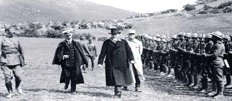 100 χρόνια απ' την ελληνική επέμβαση στην Ουκρανία
