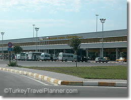 Arrival at Milas-Bodrum Airport