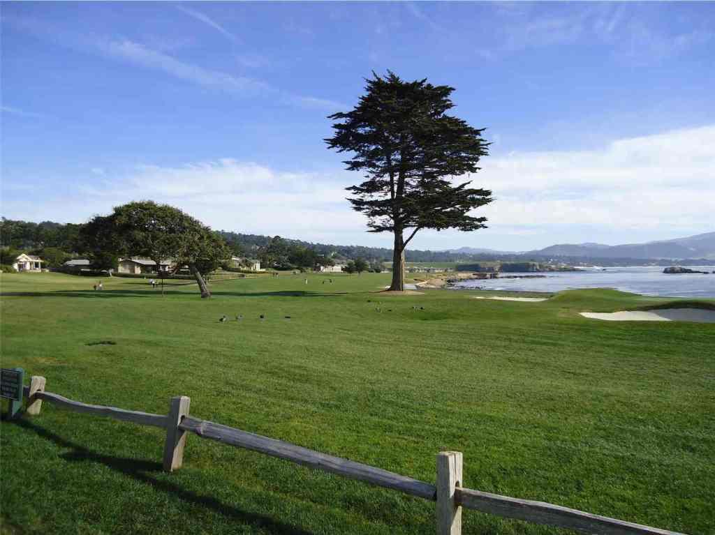 18th Hole at Pebble Beach Golf Course California