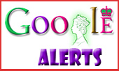 Queen Elizabeth Google Logo for Alerts
