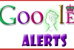 Queen Elizabeth Google Logo for Alerts