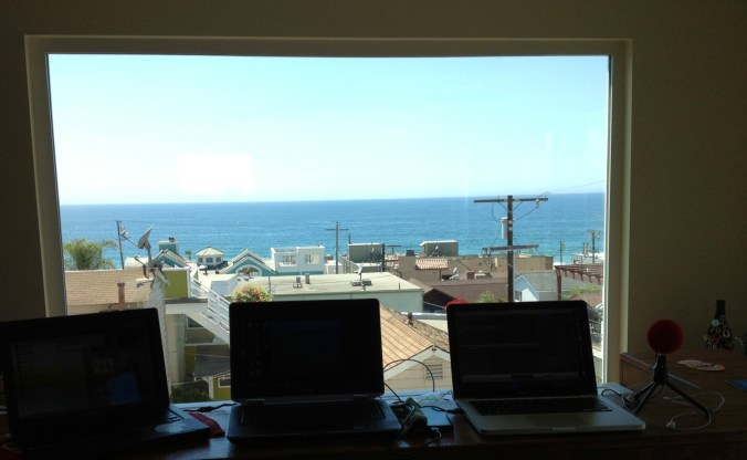 Laptop Trio in Manhattan Beach California