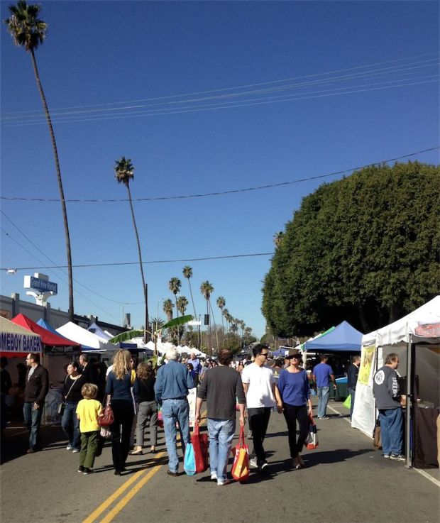 Mar Vista Farmers Market California Los Angeles