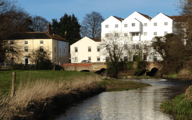 The Old Mill over the River Bure