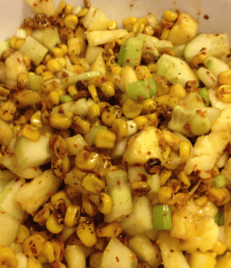 Spicy Pineapple Salsa by Roving Jay