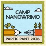 NaNoWriMo Camp Participant
