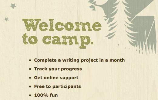 What is Camp NaNoWriMo