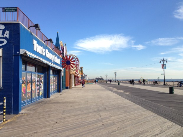 Boardwalk Coney Island Brooklyn NYC