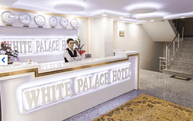 White Palace Hotel Istanbul Turkey