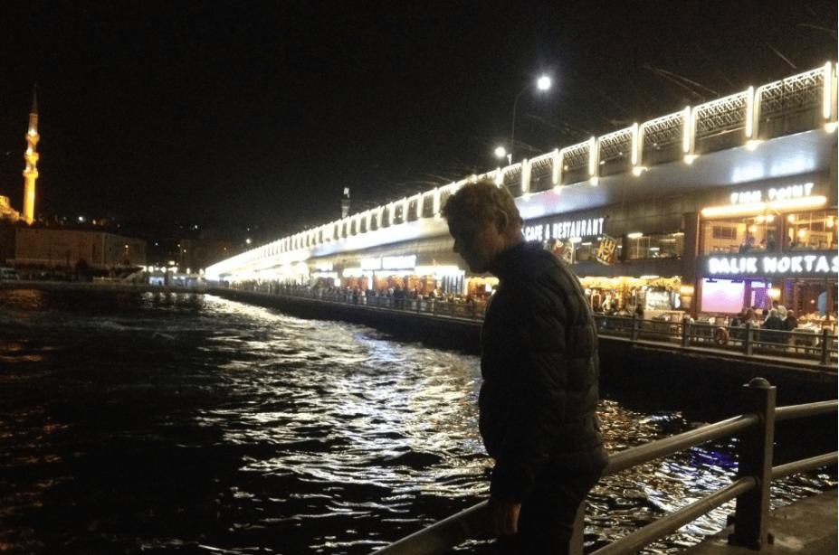 Galata Bridge Istanbul Turkey
