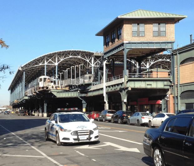 Subway Station Coney Island Brooklyn NYC