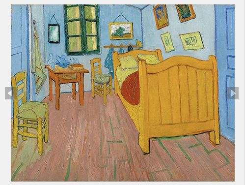 Another visit to Van Gogh\'s Bedroom - Roving Jay