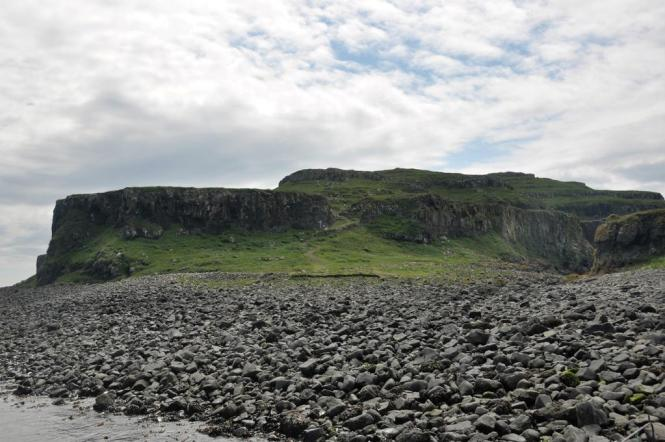 Rocky area on Lunga