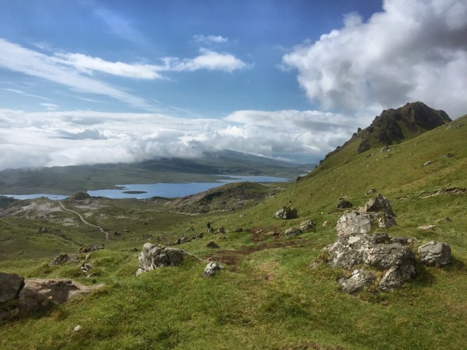 View from Old Man Storr