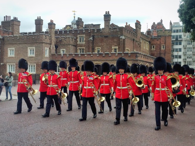 Changing of the Guards in London