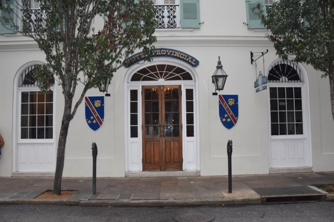 Hotel Provincial in Haunted New Orleans
