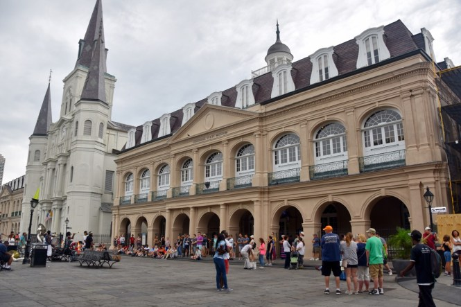 St. Louis Cathedral and the Cabildo
