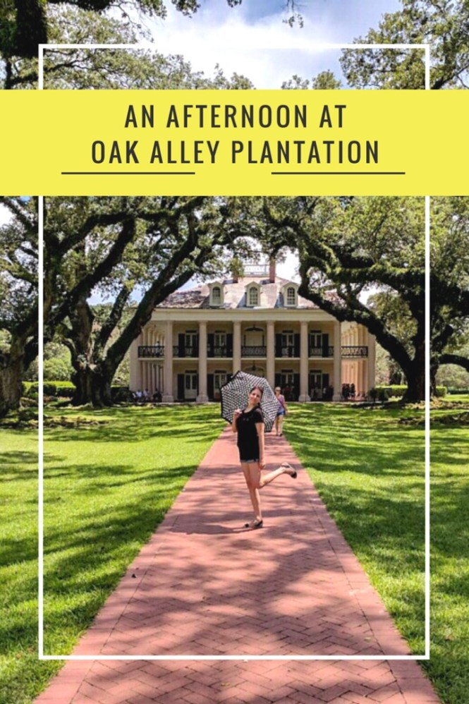 An afternoon at Oak Alley Plantation