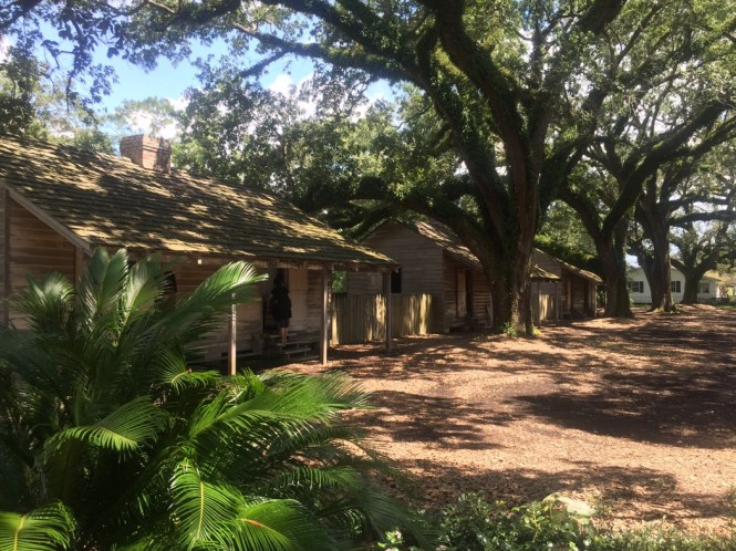 Slave cabins Oak Alley Plantation
