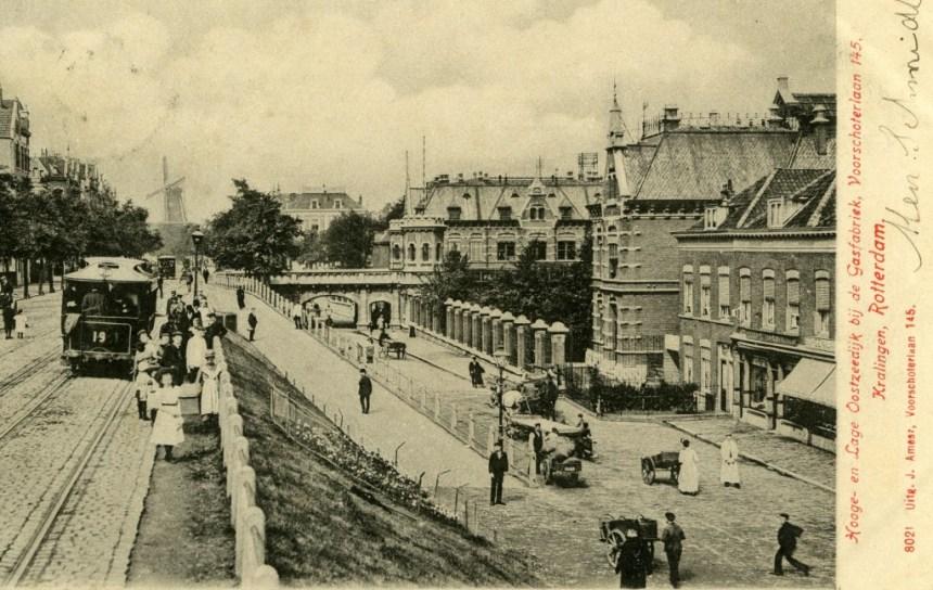 Paardetram 19, Hooge en Lage Oostzeedijk, ca. 1900
