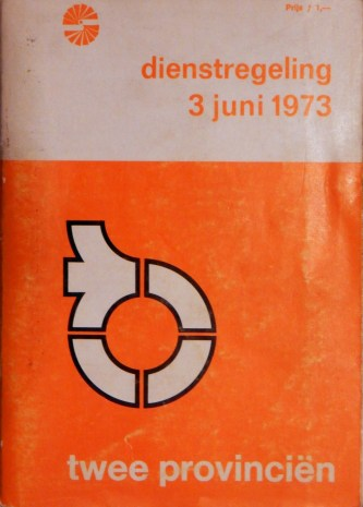 TP-dienstregeling 3-6-1973