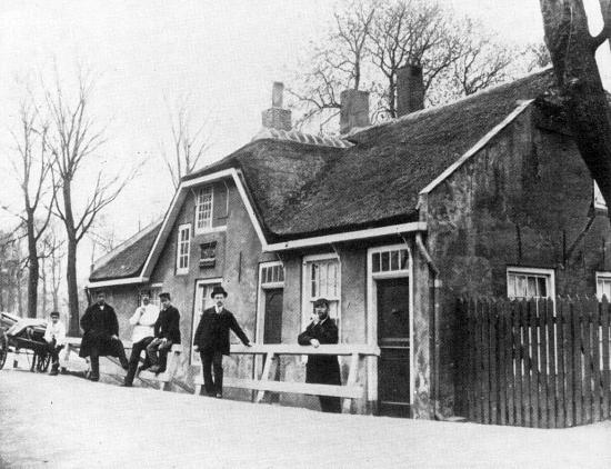 Herberg In den Rustwat, Honingerdijk, 1885.