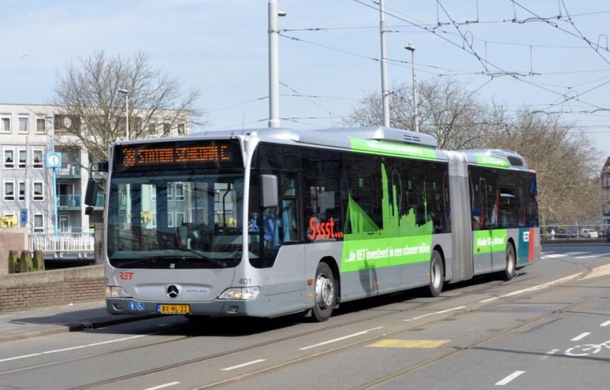 Bus 401, Mercedes-Benz 0530 Citaro geleed Bluetec Hybride, Linker Rottekade, 2010