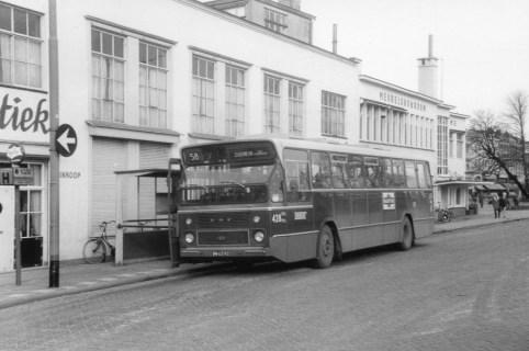 Bus 428, DAF-Hainje CSA-1, lijn 58, Rochussenstraat, 1967
