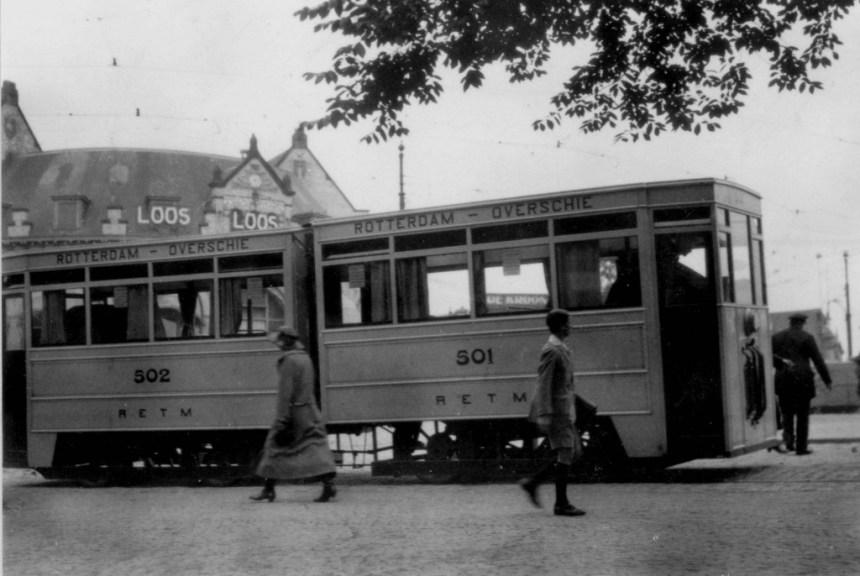 Gelede motortram RETM 502-501, Slagveld, 1926