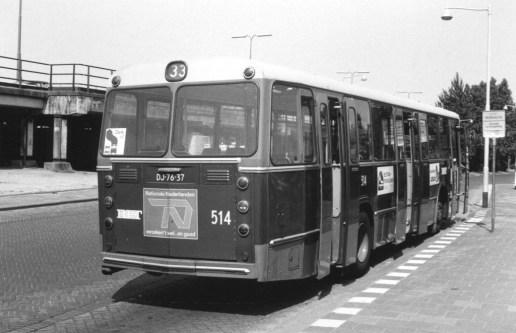 Bus 514, DAF-Hainje, lijn 33, Oost-Sidelinge