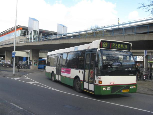Bus 641, lijn 46, Volvo-Berkhof, Zuidplein-Gooilandsingel, VT-92-VR