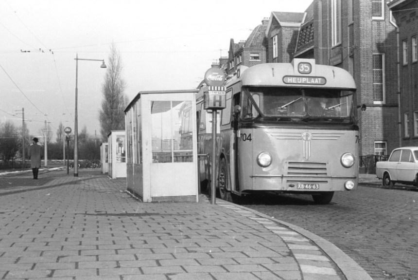 Bus 704, Kromhout-Hainje, lijn 35, Grondherenstraat
