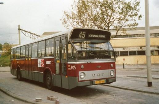 Bus 705, DAF-Hainje, lijn 45, Conradstraat