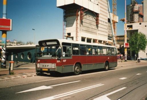 Bus 819, DAF-Hainje, lijn 45, Weena