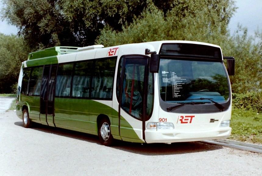 Bus 901, Den Oudsten X97/Traxis Slikkerveer, hybridebus, 16-8-1997