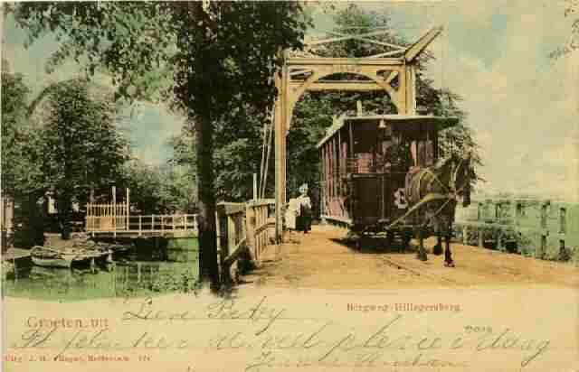 Paardentram 8, Schielandse Tramweg Maatschappij, Straatweg
