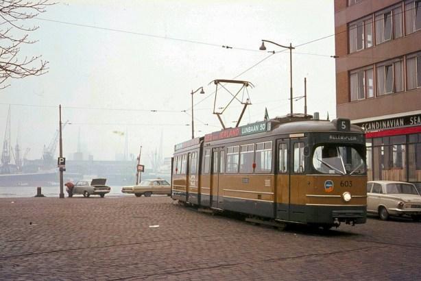 Motorrijtuig 603, Willemsplein, lijn 5