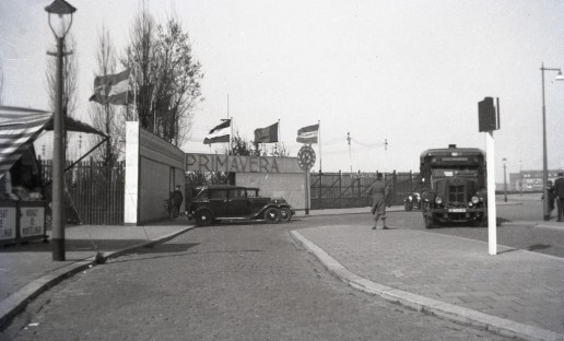 Krupp bus 5, april 1934, Nenijtoterrein.