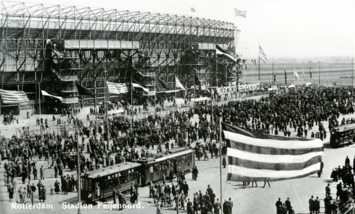 Olympiaweg, Feyenoordstadion, 2-5-1937.